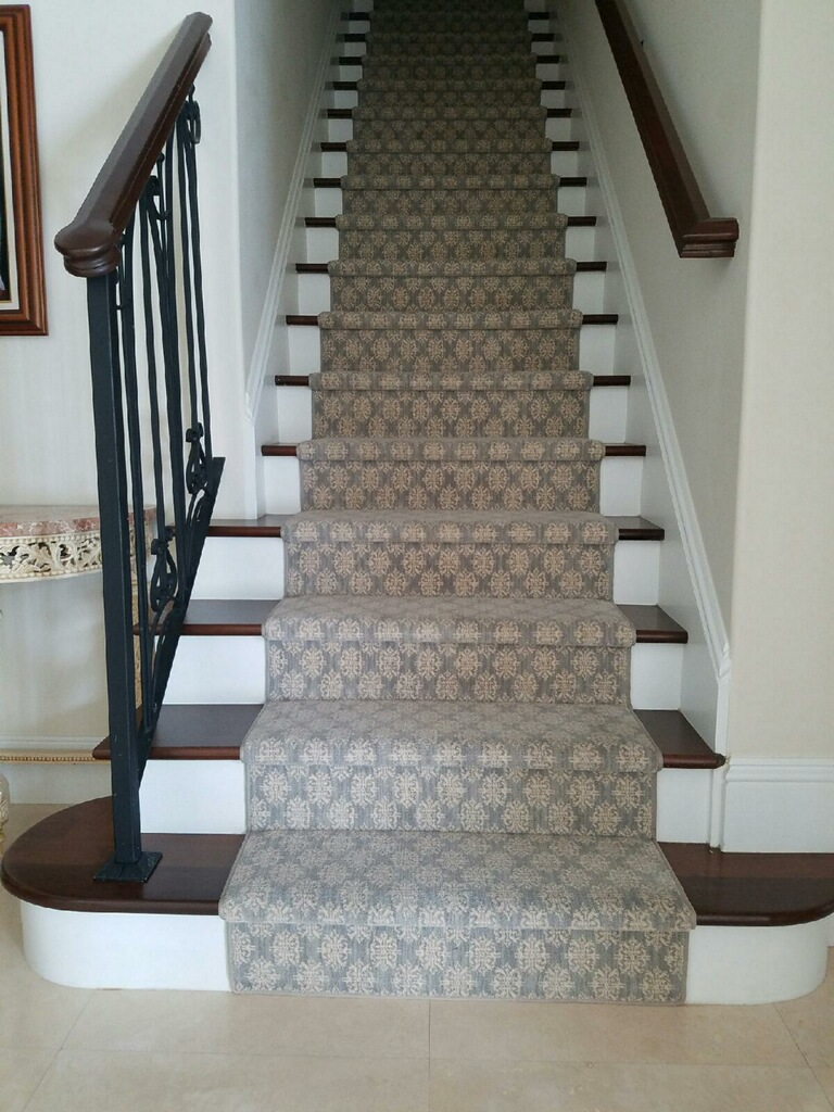 Oak Stained Staircase