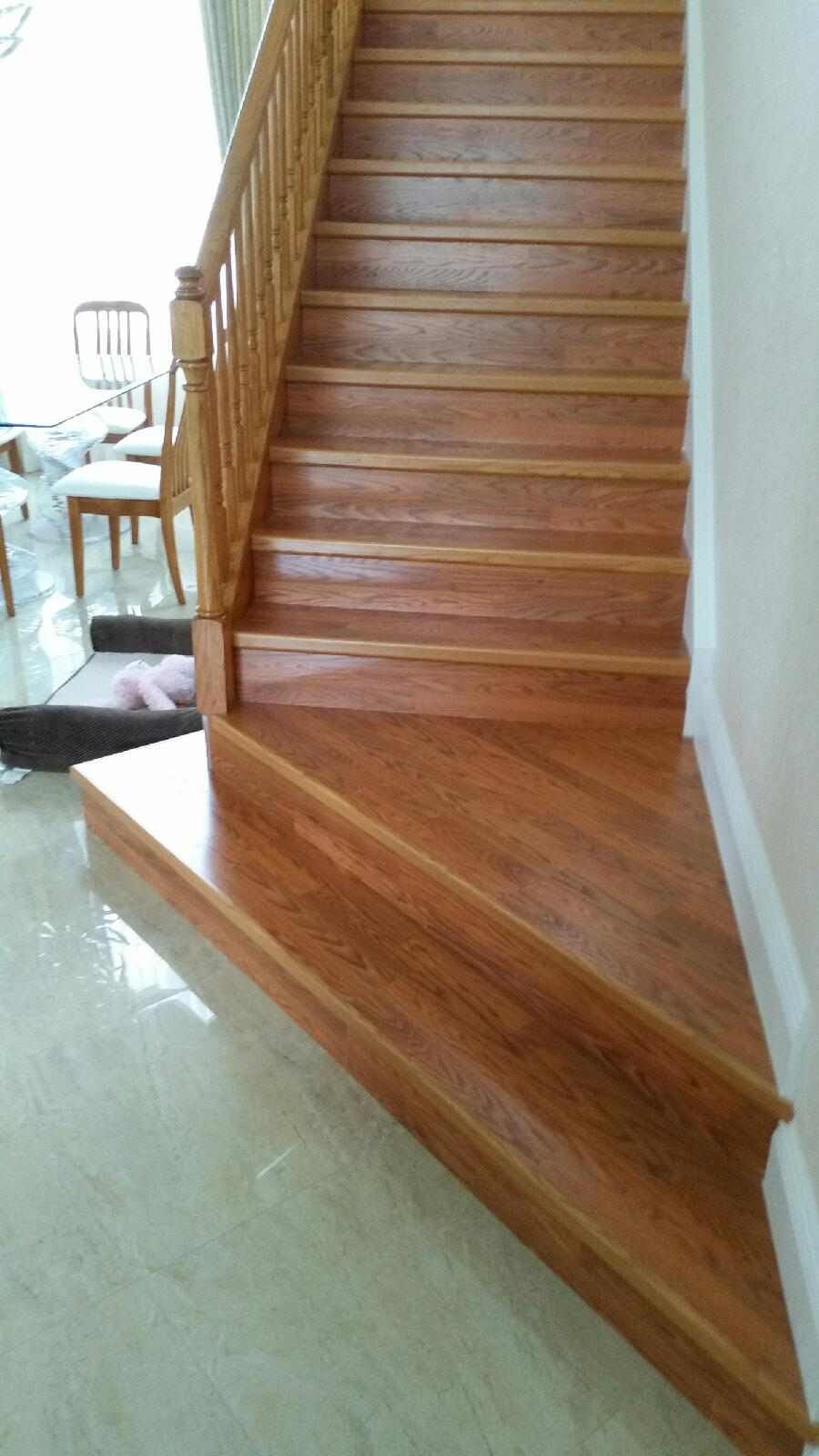 Staircase Laminate Wood